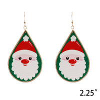 Christmas Teardrop Earrings