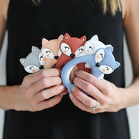 Fox Teether - 5 Colors