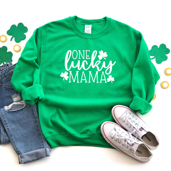 One Lucky Mama Sweatshirt