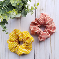 Stripe Scrunchie