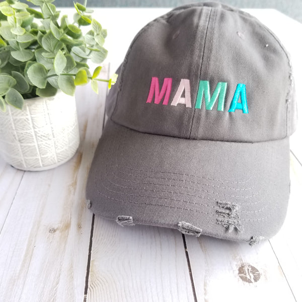 Colorful Mama Hat