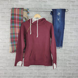 Stripe Double Hood Pullover