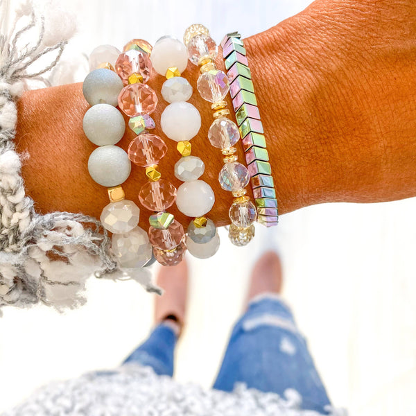 Unicorn Wishes Bracelet Stack