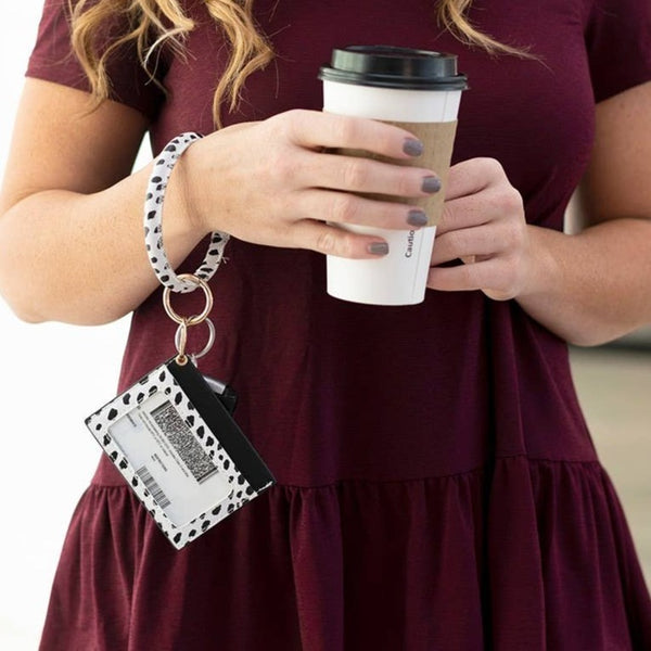 On The Go Wristlet - Spot On