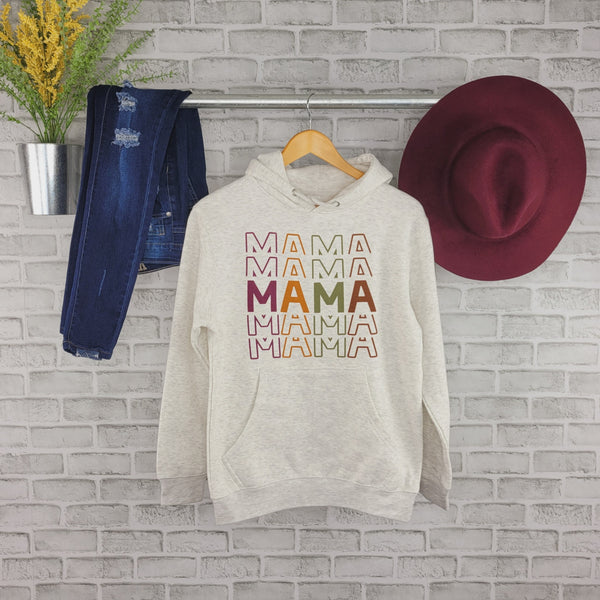 Fall Colorful Mama • Hoodie