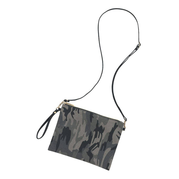 Hayley Purse Black Camo
