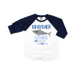 Brother Shark • Navy Raglan