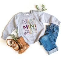 Fall Colorful MINI sweatshirt