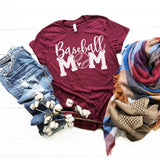 Baseball Mom • Tee • More Colors