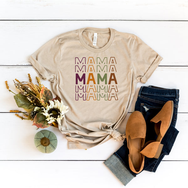 Fall Colorful Mama • Tee