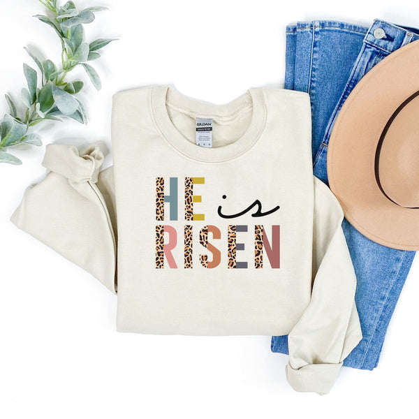 He is Risen Colorful Leopard •  More Colors