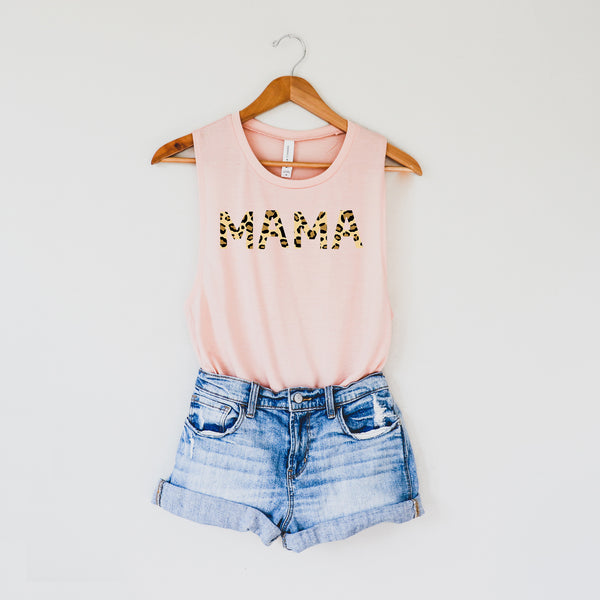 Mama Leopard Print • Tank • More Colors