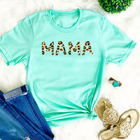 Leopard Mama Tee • More Colors