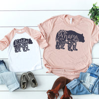 Mama Bear Little Bear Set • Set of 2 Shirts
