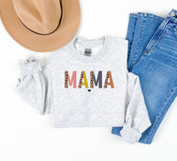 Mama Colorful Leopard Sweatshirt • More Colors