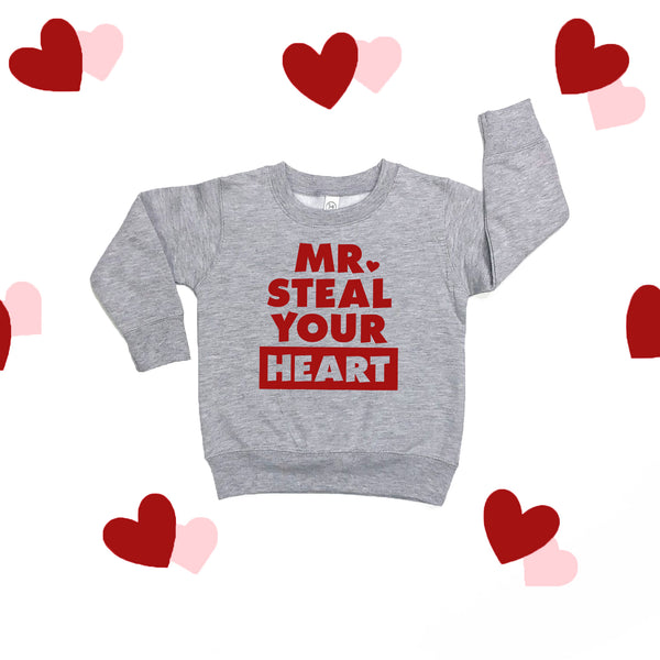 Mr. Steal Your Heart Sweatshirt