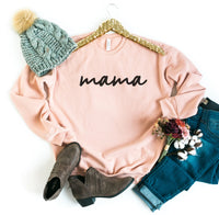 Mama Sweatshirt • Bella + Canvas Brand