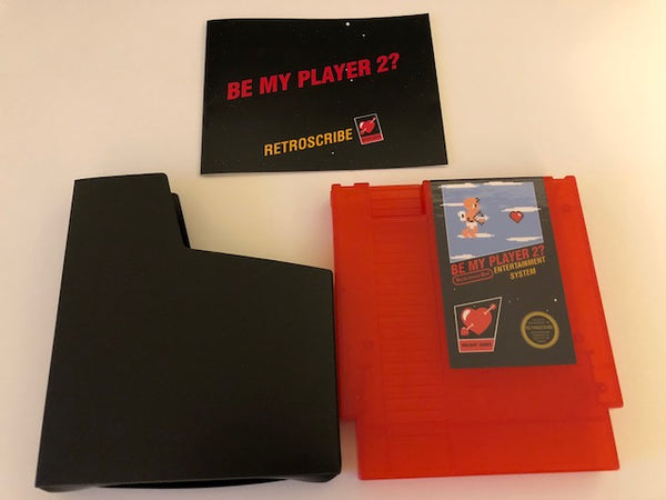 NES Valentine's Day Greeting Cart - Gift Card Holder - Red
