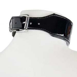 KOUDOU Obey Patent Leather O-Ring Collar