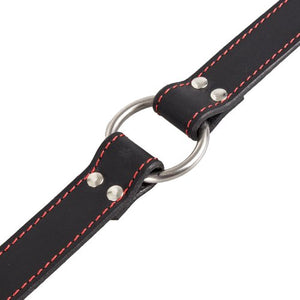 KOUDOU Obey Saddle Leather O-Ring Collar