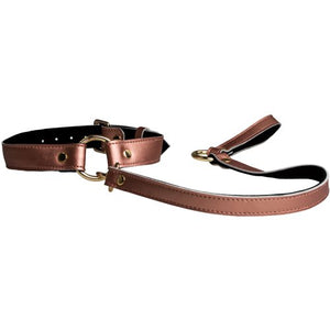 KOUDOU Tie Me Up Rose Gold Collar and Leash