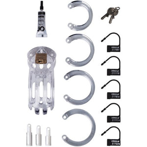 Curve Male Chastity Cage Kit