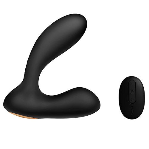 KOUDOU Svakom Vick Black 12 Function Remote P-Spot and G-Spot Vibrator