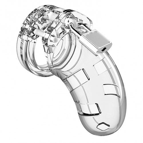 KOUDOU Man Cage Model 1 Clear Lightweight Chastity Cage