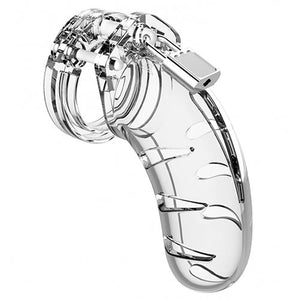 KOUDOU Man Cage Model 3 Clear Lightweight Chastity Cage
