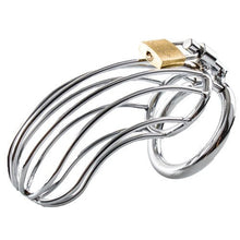 KOUDOU Stainless Steel Birdcage Chastity Cage