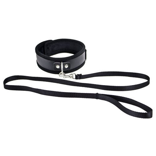 KOUDOU Black Collar and Leash