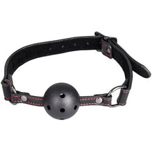 KOUDOU Faux Leather Heart Vented Ball Gag