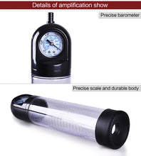 Barometer Penis Pump with Bar
