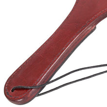 KOUDOU Lair Leather Cut-Out Horseshoe Paddle – 14 Inch