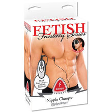 KOUDOU Fetish Fantasy Shock Therapy Nipple Clamps