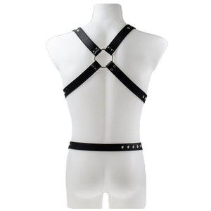 KOUDOU Black Men's Bondage Harness
