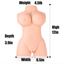 KOUDOU Sex Love Doll Male Masturbator- 3D Realistic Male Sex Dolls with Breasts Butt Tight Vigrin Pussy Ass Silicone Adult Toys for Men Sexual Pleasure Masturbation (12*6.5*3.9 in)
