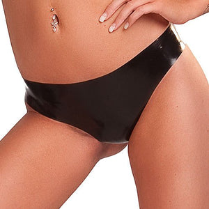 KOUDOU Latex Black Low Rise Brief