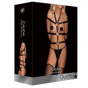 KOUDOU Ouch! Calida Real Leather Restraint Harness