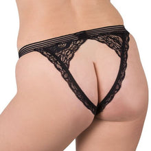 KOUDOU Plus Size Open Back 20 Function Remote Vibrating Knicker