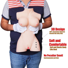KOUDOU Sex Doll Male Masturbator Toys - Love Doll 3D Super Realistic Breasts Ass Vagina TPE Sex Doll for Men (15.5x9.0x5.5 in)