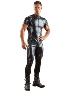Sexy Men's Gay Leather catsuit