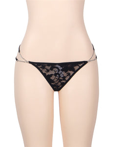 Diamond Charm Lace G String