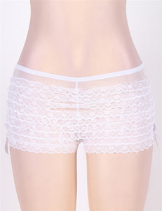 Whtie Lace Sexy Panty