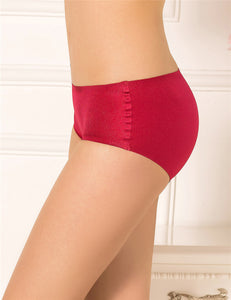 Plus Size Red Flash Silky Soft Sexy Panty