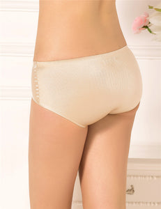 Plus Size Champagne Silky Flash Soft Sexy Panty