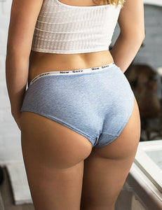 Plus Size Comfort Ultra-Soft Lace Edge Ladies Cotton Underwear