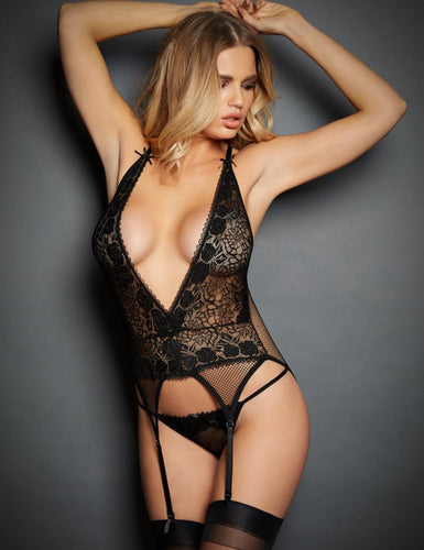 Dark Temptations Black Lingerie