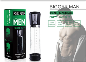 Rechargeable Electric Male Penis Vacuum Pump Air Enlarger Extender Prolong Enhancer