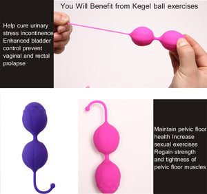 Kegel Exercise Kit Silicone Ben Wa Balls